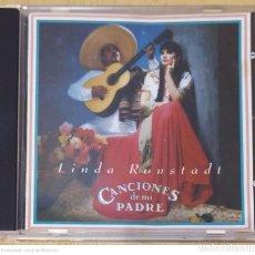 CDs de Música: LINDA RONSTADT (CANCIONES DE MI PADRE) CD 1989. Lote 283383978