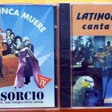 """CDs de Música: EL CONSORCIO: LO QUE NUNCA MUERE -CD-1994-HISPAVOX +REGALO DE """"LATINOAMERICA CANTA Y BAILA"""" (VARIOS). Lote 283458353"""