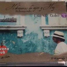 CDs de Música: CD ( HABANERAS DE AYER Y HOY HABANEANDO - ESTO ES CUBA EXTRA 1 - GONZALO REY CON LA BANDA BRASA ). Lote 283458913