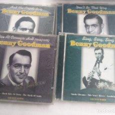 CDs de Música: BENNY GOODMAN - LOTE 4 CD.S. Lote 283736638