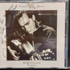 CDs de Música: FIRMADO !! VICENTE AMIGO / DE MI CORAZÓN AL AIRE / CD - CBS-SONY-1991 / 8 TEMAS / IMPECABLE.. Lote 283985878