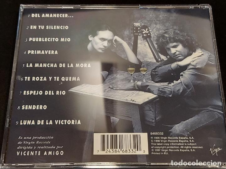 CDs de Música: FIRMADO !! JOSÉ MERCÉ / DEL AMANECER...CON VICENTE AMIGO / 9 TEMAS / IMPECABLE + ENTRADA CONCIERTO. - Foto 4 - 284007258