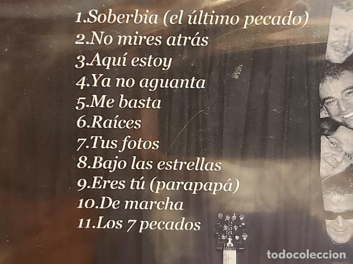 CDs de Música: SIETE PECADOS / NO MIRES ATRÁS / CD - 7PK2 / 11 TEMAS / PRECINTADO. - Foto 3 - 284009093