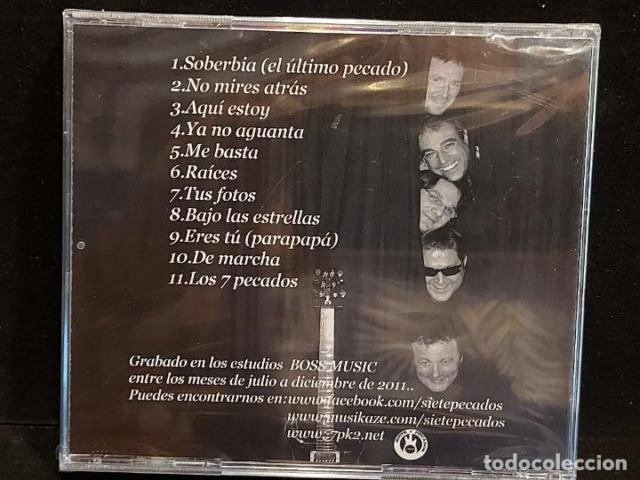 CDs de Música: SIETE PECADOS / NO MIRES ATRÁS / CD - 7PK2 / 11 TEMAS / PRECINTADO. - Foto 2 - 284009093