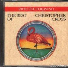CD di Musica: THE BEST OF CHRISTOPHER CROSS - RIDE LIKE THE WIND / CD ALBUM DE 1992 / MUY BUEN ESTADO RF-10488. Lote 284031878