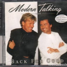 CD di Musica: MODERN TALKING 1998 - BACK FOR GOOD / CD ALBUM DE 1998 / MUY BUEN ESTADO RF-10492. Lote 284032188
