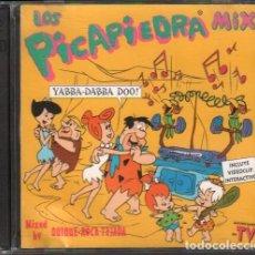 CDs de Música: LOS PICAPIEDRAS MIX - MIXED BY QUIQUE ROCA TEJADA / 2 LP BLANCO Y NEGRO 1994 RF-10505. Lote 284059178