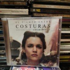 CDs de Musique: EL TIEMPO ENTRE COSTURAS CESAR BENITO PRECINTADO. Lote 284076998