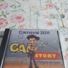 CDs de Música: M-45 CD MUSICA CARNAVAL DE CADIZ NUEVO PRECINTADO CHIRIGOTA CAI STORY. Lote 284162873
