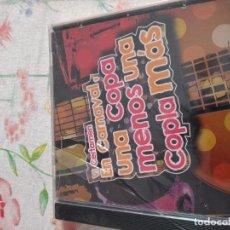 CDs de Música: M-45 CD MUSICA CARNAVAL DE CADIZ UNA COPA MENOS,UNA COPLA MAS VI CERTAMEN NUEVO CON PRECINTO. Lote 284163603