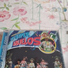 CDs de Música: M-45 CD MUSICA CARNAVAL DE CADIZ CHIRIGOTA LOS SUPER ABUELOS. Lote 284163828