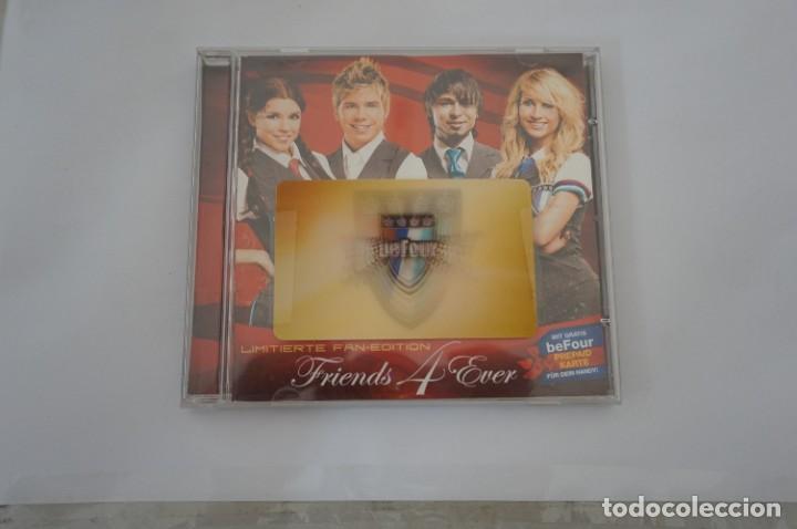 CD - BEFOUR - FRIENDS 4 EVER / LIMITIERTE FAN EDITION - INCLUYE TARJETA HOLOGRAFICA - COMO NUEVO (Música - CD's Otros Estilos)