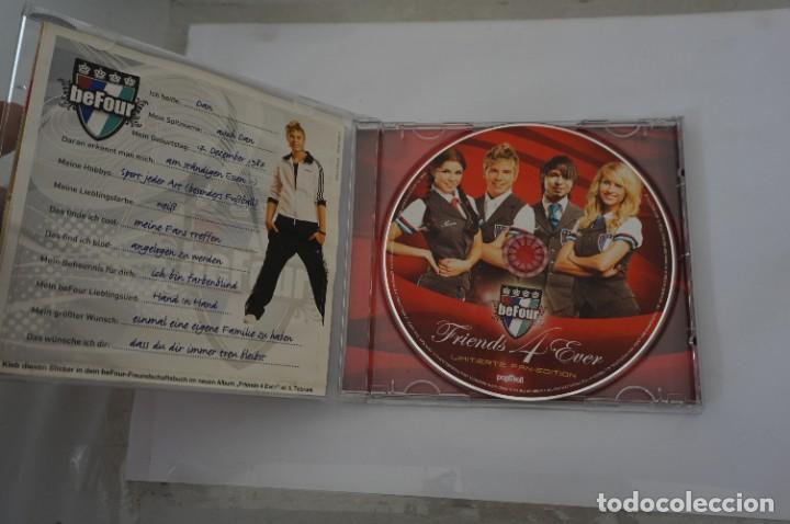 CDs de Música: CD - BEFOUR - FRIENDS 4 EVER / LIMITIERTE FAN EDITION - INCLUYE TARJETA HOLOGRAFICA - COMO NUEVO - Foto 4 - 284221343
