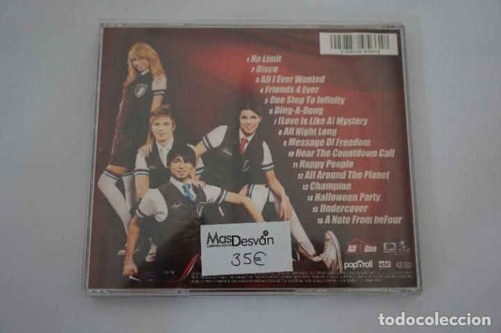 CDs de Música: CD - BEFOUR - FRIENDS 4 EVER / LIMITIERTE FAN EDITION - INCLUYE TARJETA HOLOGRAFICA - COMO NUEVO - Foto 5 - 284221343