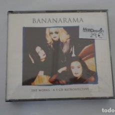 CDs de Música: CD - BANANARAMA - THE WORKS - A 3 CD RETROSPECTIVE - COMO NUEVO. Lote 284221533