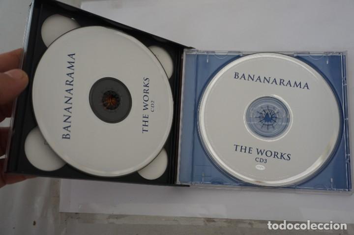 CDs de Música: CD - BANANARAMA - THE WORKS - A 3 CD RETROSPECTIVE - COMO NUEVO - Foto 4 - 284221533