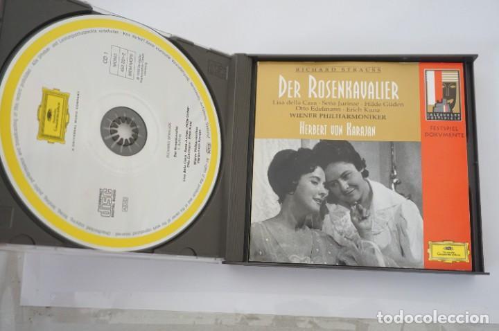 CDs de Música: CD - RICHARD STRAUSS - DER ROSENKAVALIER / HERBERT VON KARAJAN - 3 CD - COMO NUEVO - Foto 3 - 284221663