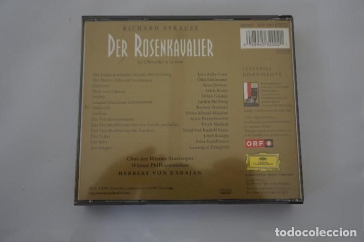 CDs de Música: CD - RICHARD STRAUSS - DER ROSENKAVALIER / HERBERT VON KARAJAN - 3 CD - COMO NUEVO - Foto 6 - 284221663