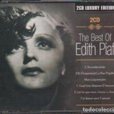 CD di Musica: THE BEST OF EDITH PIAF - 2 CD'S LUXURY EDITION DEL 2004 / MUY BUEN ESTADO RF-10517. Lote 284469318