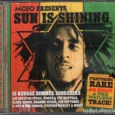 CDs de Música: SUN IS SHINING - FEATURING RARE BOB MARLEY & THE WAILERS TRACK / CD ALBUM RF-10526. Lote 284470388