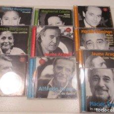 CDs de Música: GRANDES VOCES DE LA LIRICA (10 UNIDADES SUELTOS) W8795. Lote 284550323