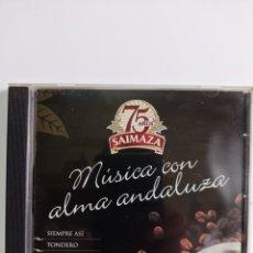 CDs de Música: CD MUSICA / CON ALMA ANDALUZA - 2004 / EDITADO POR FERROMUSIC - 2004. Lote 284589073