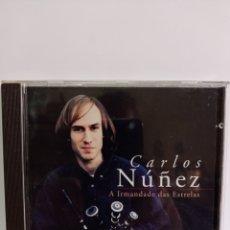 """CDs de Música: CD DE CARLOS NUÑEZ / """" LA HERMANDAD DE LAS ESTRELLAS / EDITADO POR ARIOLA - 1996.. Lote 284589713"""