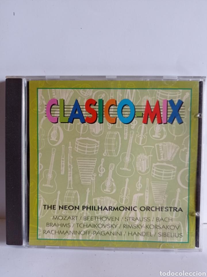 CD THE NEON PHILARMONIC ORCHESTRA / CLASICO MIX / EDITADO POR DIAL DISCOS - 1996 (Música - CD's Melódica )