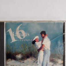 CDs de Música: CD DE 16 BALADAS EN ESPAÑOL / EDITADO POR CRIXTAL - 1995. Lote 284592028