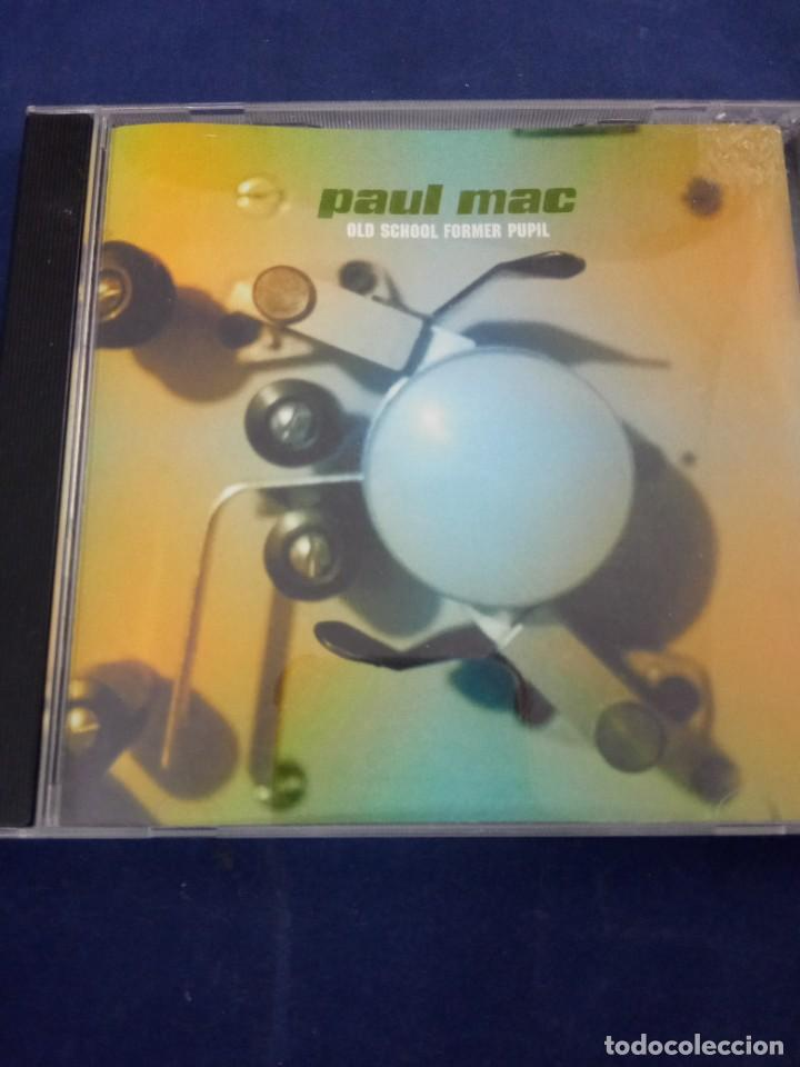 CD PAUL MAC. OLD SCHOOL FORMER PUPIL (Música - CD's Techno)