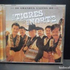 CDs de Musique: LOS TIGRES DEL NORTE / 30 GRANDES ÉXITOS / LO MEJOR DE / 2 CD PEPETO. Lote 284667003