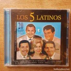 CD de Música: CD LOS 5 LATINOS. Lote 295378543