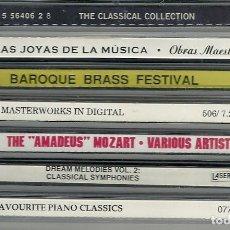 CDs de Música: 7 CDS RECOPILATORIOS DE MÚSICA CLÁSICA. Lote 284779553