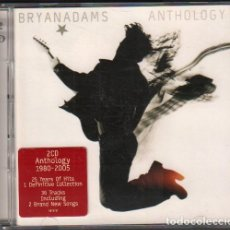 CDs de Musique: BRYAN ADAMS - ANTHOLOGY (1980-2005) / 2 CD'S ALBUM DEL 2005 / MUY BUEN ESTADO RF-10542. Lote 284787838