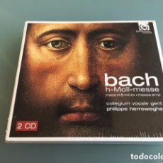 CD de Música: JOHANN SEBASTIAN BACH - MISA EN SI MENOR BWV232 (2CD) PHILIPPE HERREWEGHE. Lote 285069088