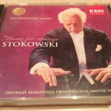 CDs de Musique: LEOPOLD STOKOWSKI - MISIC FOR STRINGS - MÚSICA CLÁSICA. Lote 285334513