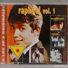 CDs de Música: CD. RAPHAEL. LOS EPS ORIGINALES. VOL 1. Lote 285482823
