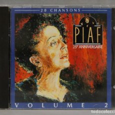 CDs de Música: CD. EDITH PIAF. 25 ANNIVERSAIRE. VOLUME 2. Lote 285483358