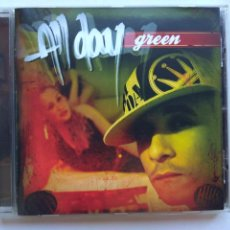 CD de Música: ALL DAY. GREEN. CD FIEBRE RECORDS FR-006. ESPAÑA 2005. JUANINACKA. NIKO. DAVINIA. TRALLA.. Lote 285699283