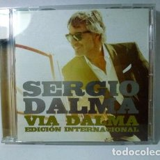 CDs de Música: VIA DALMA ED INTERNACIONAL SERGIO DALMA AUDIO CD. Lote 285917073