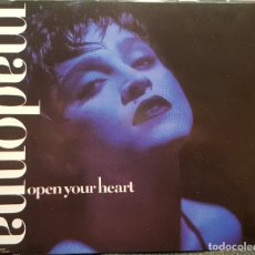 CDs de Música: MADONNA - OPEN YOUR HEART EXTENDED VERSION - CD SINGLE - ALEMANIA - EXCELENTE - NO USO CORREOS. Lote 286308108