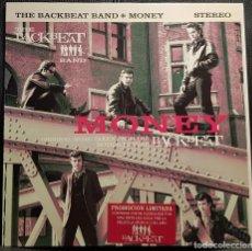CDs de Música: THE BACKBEAT BAND - BEATLES - MONEY - MAXISINGLE - ESPAÑA - ADHESIVO PROMOCIONAL - NO USO CORREOS. Lote 286309168