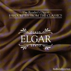 CDs de Música: TRIPLE CD ALBUM + LIBRETO: ELGAR - FAVOURITES FROM THE CLASSICS - READER'S DIGEST - AÑO 1993. Lote 286417358