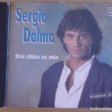 CDs de Música: SERGIO DALMA - ESA CHICA ES MIA (CD) 1991 - 12 TEMAS - HORUS - NO CODIGO DE BARRAS. Lote 286565863