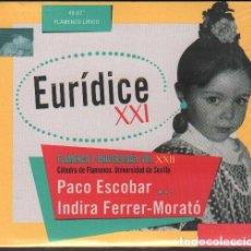 CDs de Música: EURIDICE XXL - FLAMENCO Y UNIVERSIDAD VOL. XXLL / DIGIPACK CD ALBUM 2014 / PRECINTADO RF-10564. Lote 286619178