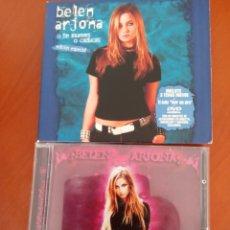 "CDs de Música: PACK 2 CDS 1 DVD BELEN ARJONA "" O TE MUEVES O CADUCAS EDICION ESPECIAL-INFINITO "". Lote 286627383"