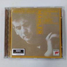 CDs de Música: SYMPHONY NO. 5. LEONARD BERNSTEIN CENTURY. MAHLER. NEW YORK PHILHARMONIC. CD. TDKCD41. Lote 286685348