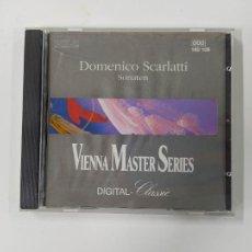 CDs de Música: DOMENICO SCARLATTI. SONATEN. VIENNA MASTER SERIES. CD. TDKCD45. Lote 286710793