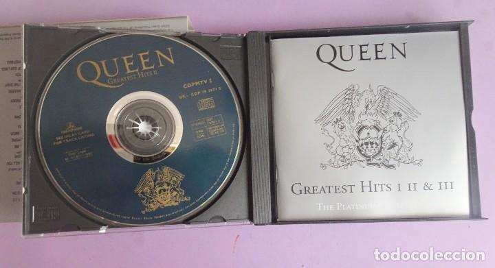 CDs de Música: 3 CD´S QUEEN , GREATEST HITS I II & III THE PLATINUM COLLECTION - Foto 4 - 286719933