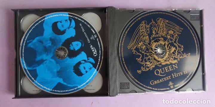 CDs de Música: 3 CD´S QUEEN , GREATEST HITS I II & III THE PLATINUM COLLECTION - Foto 9 - 286719933